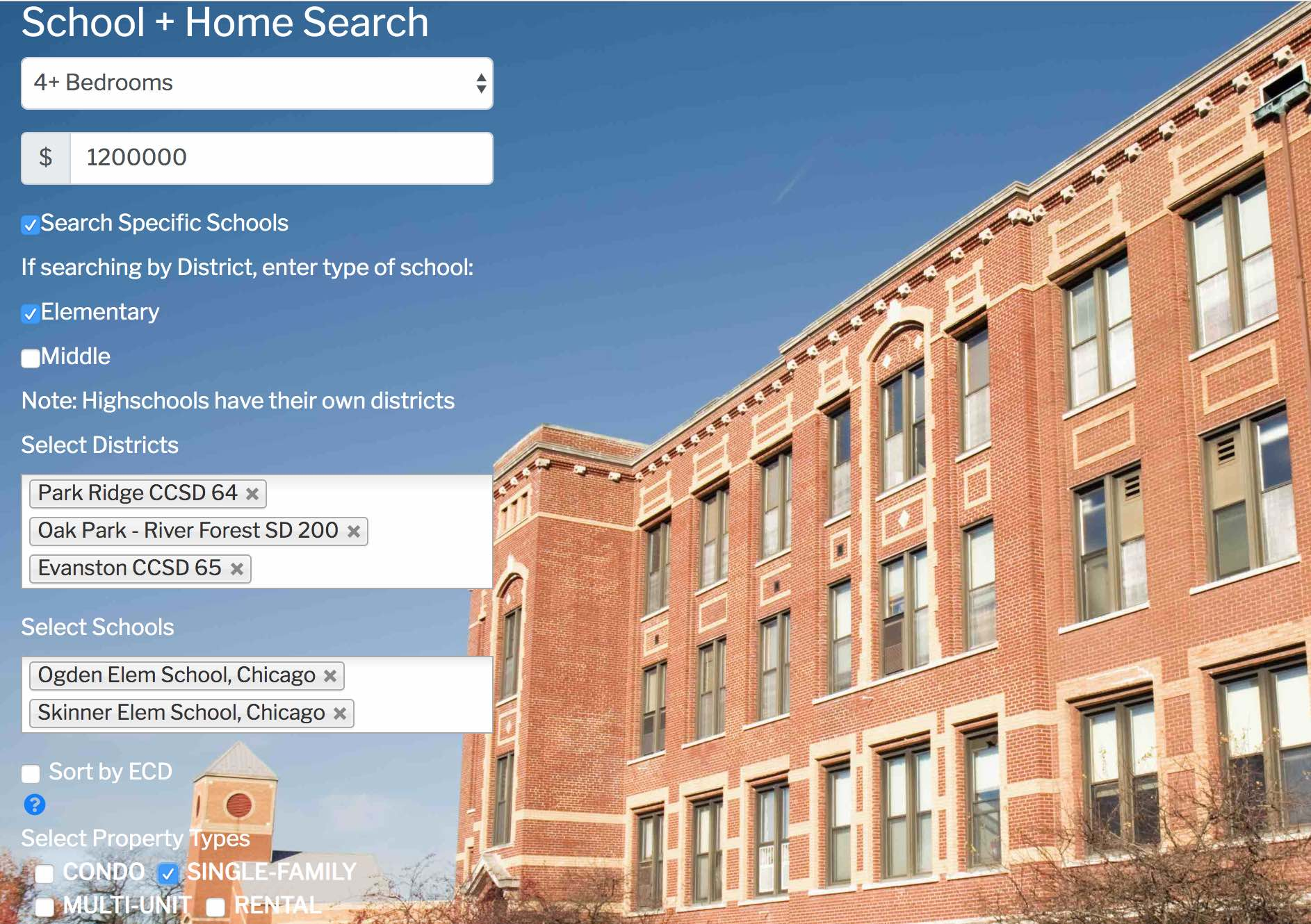 Chicago Public School Rankings And Homes For Sale In The School